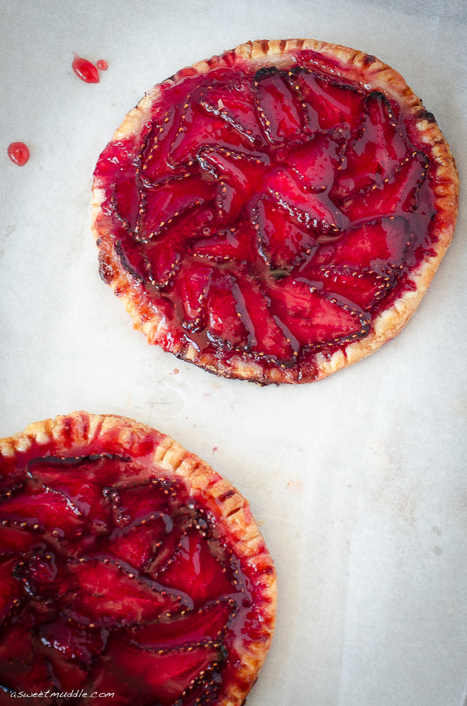 Delicious strawberry galettes - A Sweet Muddle