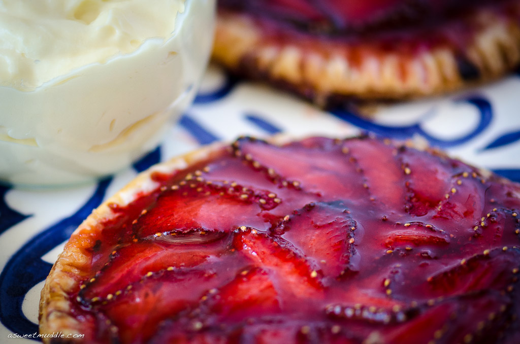 Strawberry Galettes - A Sweet Muddle