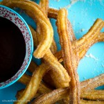 Churros y chocolate