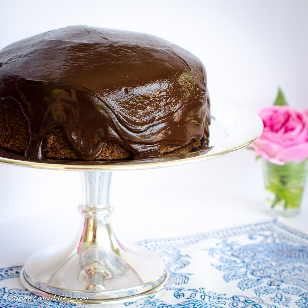 Boiled chocolate cake - A Sweet Muddle