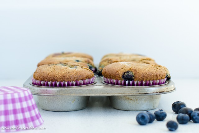 Blueberry muffins | A Sweet Muddle
