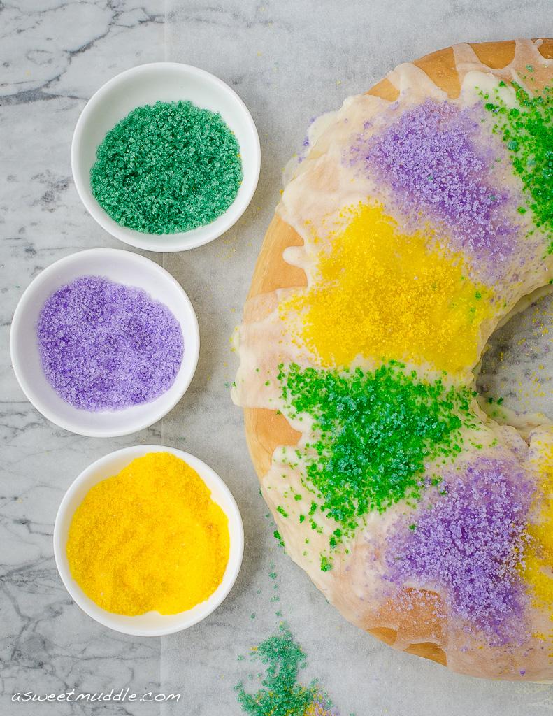 King Cake | A Sweet Muddle