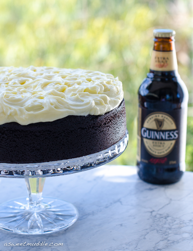 Chocolate guinness cake | A Sweet Muddle