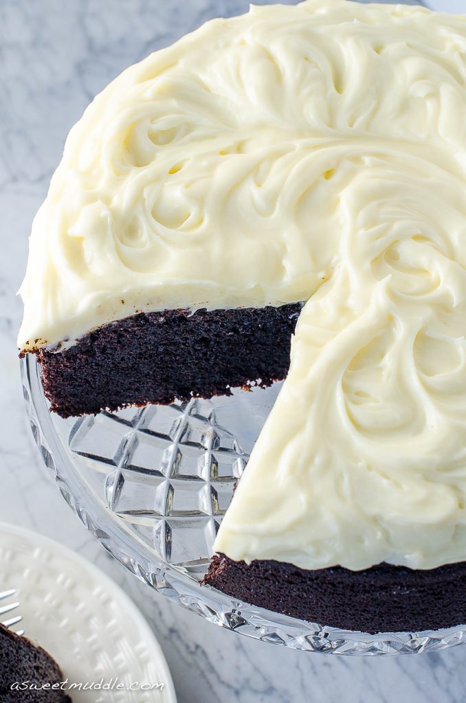 Chocolate guinness cake-4