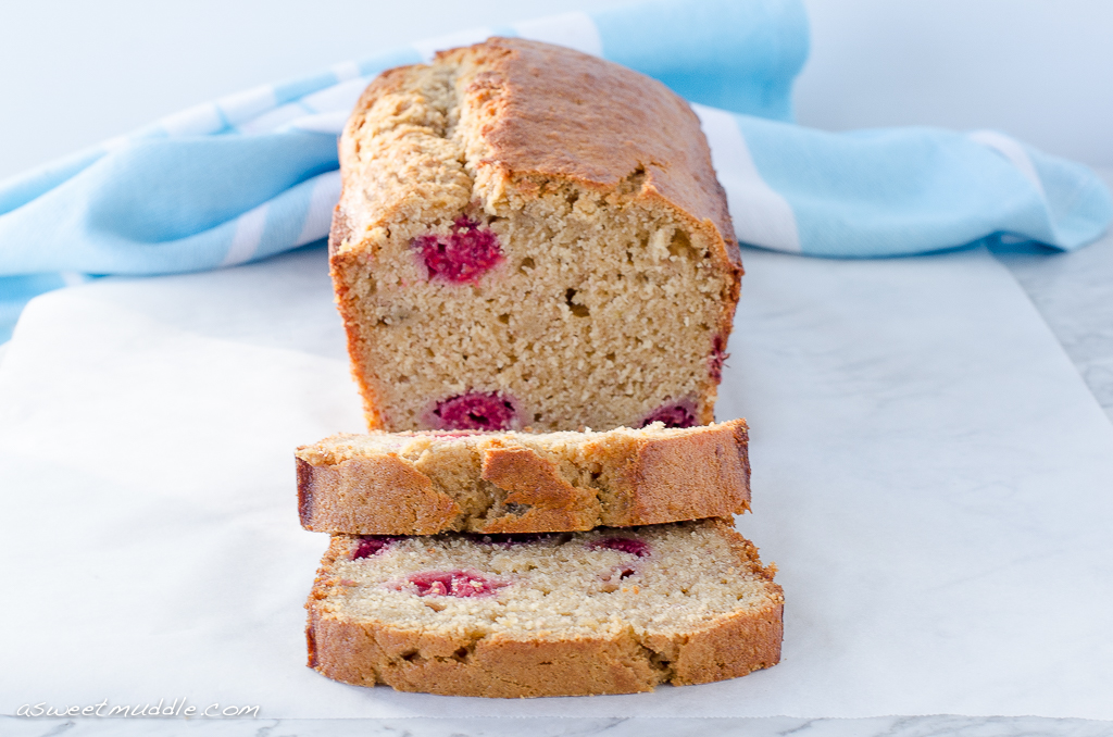 Banana raspberry bread | A Sweet Muddle